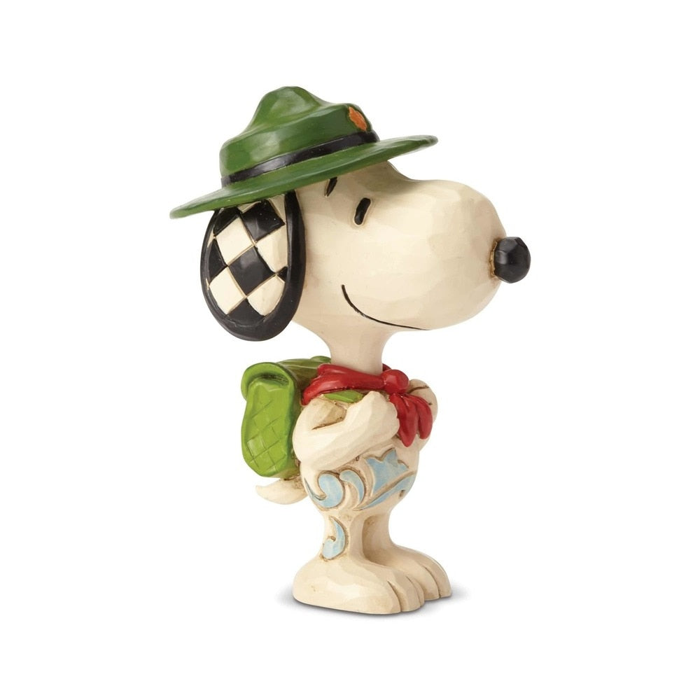 Snoopy Boy Scout Mini by Jim Shore