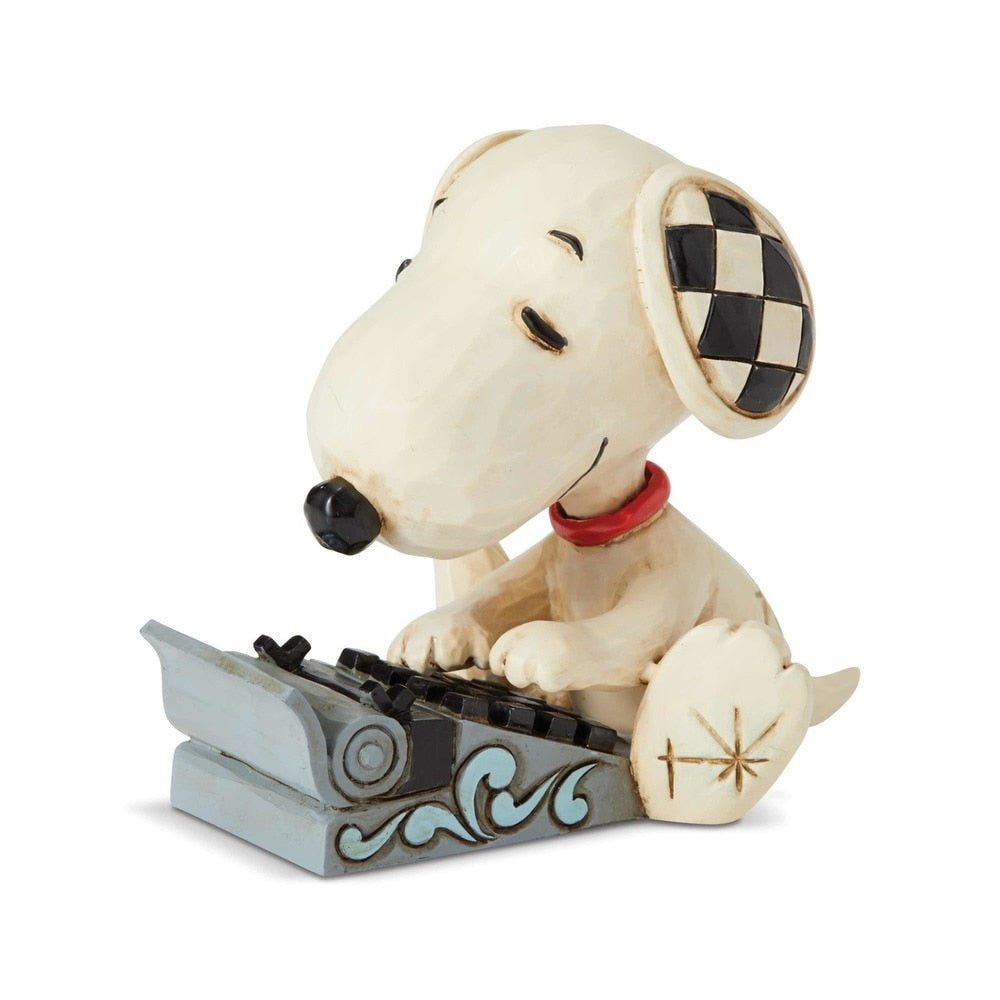 Snoopy Typing Mini by Jim Shore