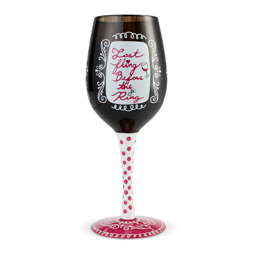 Bachelorette Lolita Wine Glass