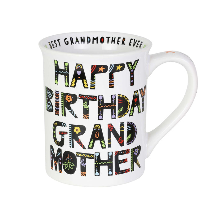 Happy Birthday Grandmother Mug