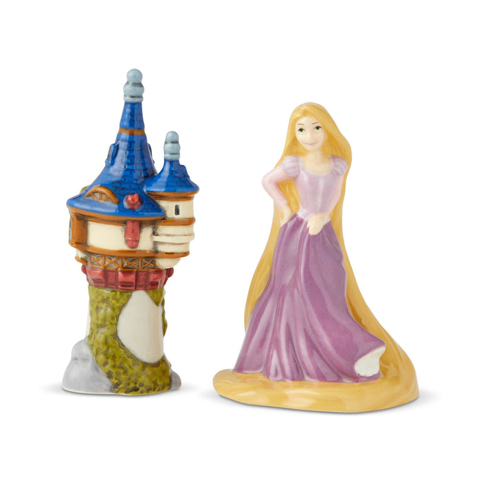 Rapunzel & Tower Salt & Pepper Shakers