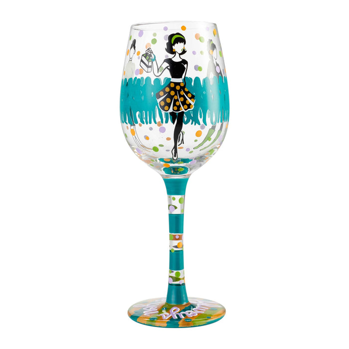 Stand Out Lolita Wine Glass
