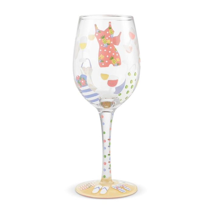 Cabana Cutie Lolita Wine Glass