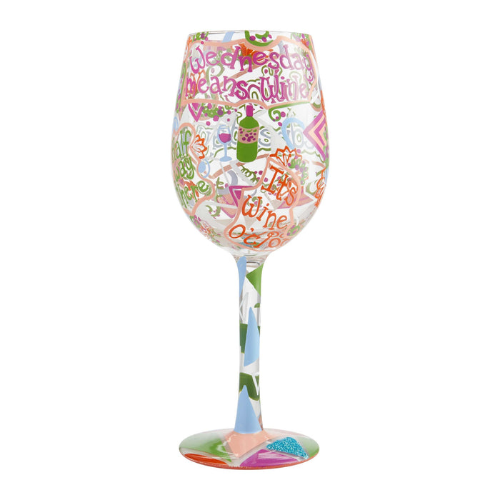 Wine Wednesday Lolita Wine Glass