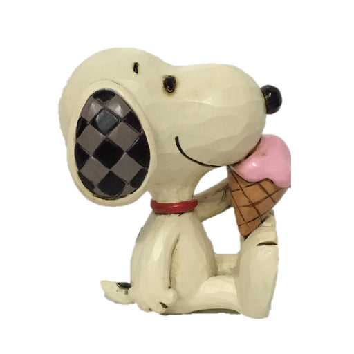 Mini Snoopy with Ice Cream by Jim Shore