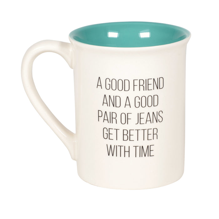 Friends Like Jeans Mug