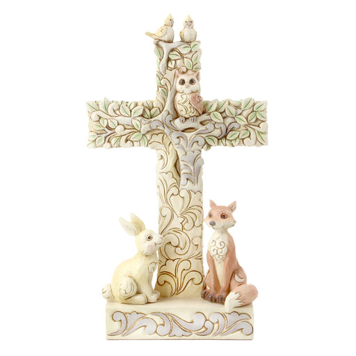 Woodland Cross with Animals by Jim Shore
