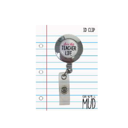 Teacher Retractable ID Clip