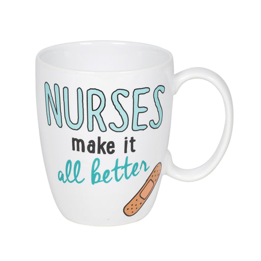 Nurse Mug with Coaster