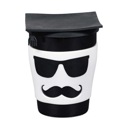 Male Grad Mug with Lid