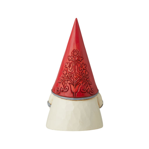 Red Floral Hat Gnome by Jim Shore