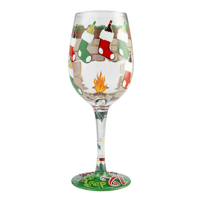 12 Days of Wine Lolita Wine Glass