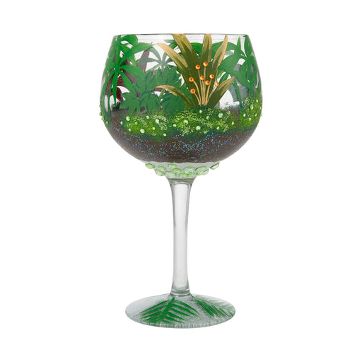 Jungle Terrarium Copa Lolita Wine Glass