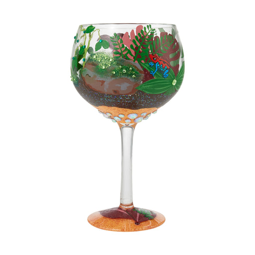 Rainforest Terrarium Copa Lolita Wine Glass