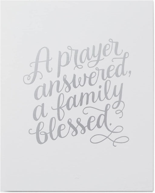 A Prayer Answered Art Print