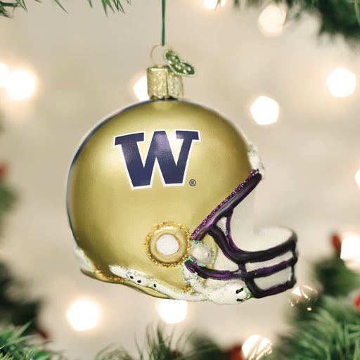 University of Washington Helmet Ornament
