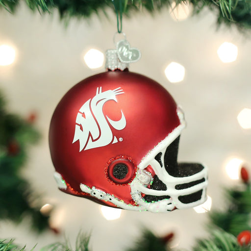 Washington State University Helmet Ornament