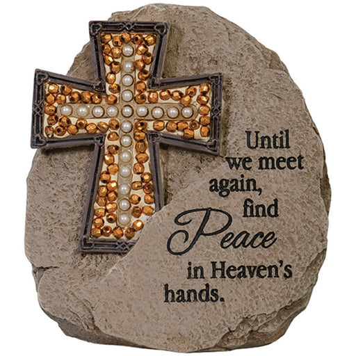 """Meet Again"" Beadworks Memorial Message Stone"