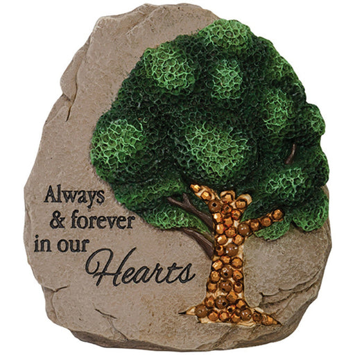 """Always & Forever"" Beadworks Memorial Message Stone"
