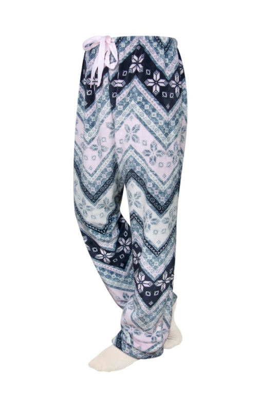 Chevron Velvety Cozy PJ Bottoms