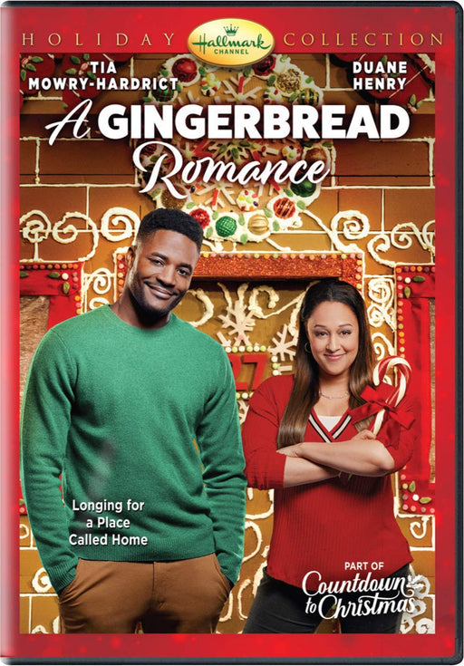 A Gingerbread Romance DVD