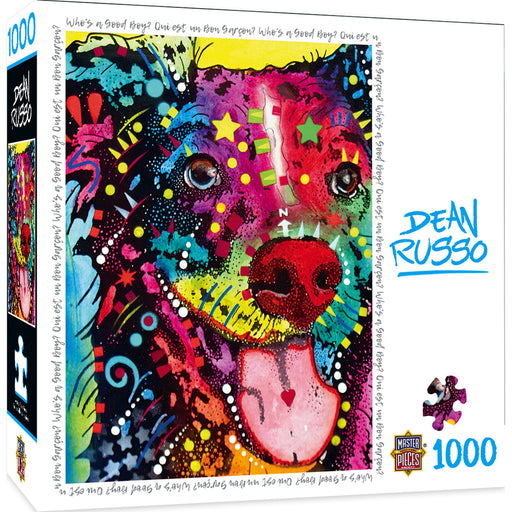 Who's A Good Boy? 1000 Piece Jigsaw Puzzle