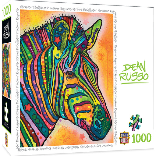 Stripes McAllister 1000 Piece Jigsaw Puzzle