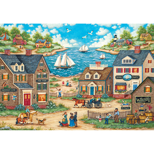Mr. Wiggins Whirligigs 1000 Piece Jigsaw Puzzle