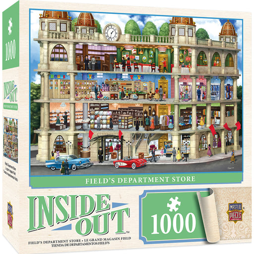 Inside Out Field's Department Store 1000 Piece Jigsaw Puzzle