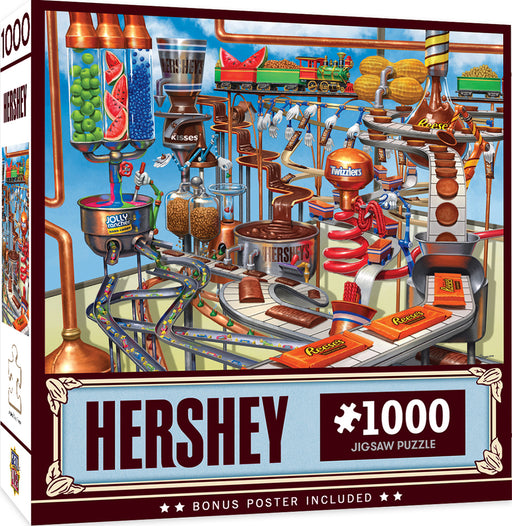 Hershey's Chocolate Factory 1000 Piece Jigsaw Puzzle
