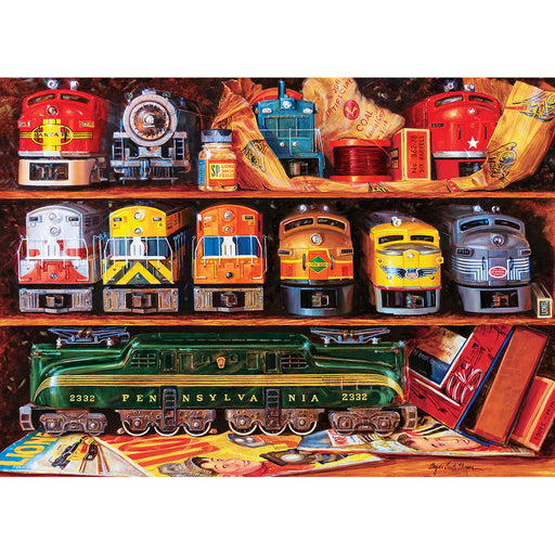 Lionel Trains Well Stocked Shelves 1000 Piece Jigsaw Puzzle