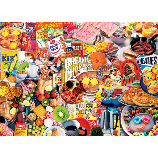 Breakfast of Champions 1000 Piece Jigsaw Puzzle