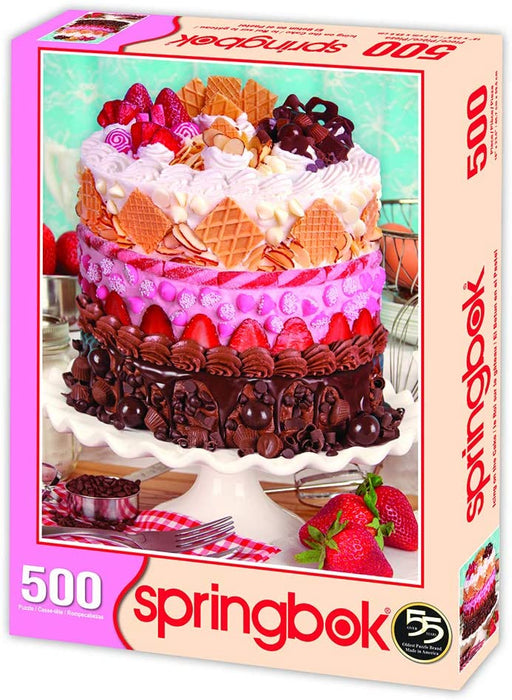 Icing on the Cake 500 Piece Jigsaw Puzzle
