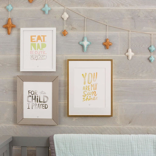 Eat. Nap. Be Cute. Repeat. Art Print