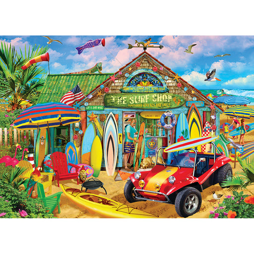 Beach Time Fun 1000 Piece Jigsaw Puzzle