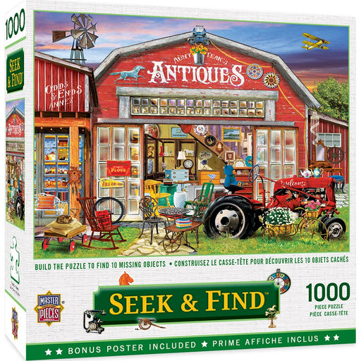 Antiques for Sale 1000 Piece Jigsaw Puzzle