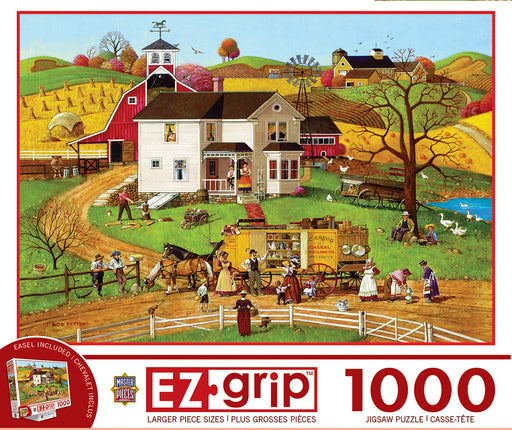 The Traveling Man 1000 Piece Jigsaw Puzzle