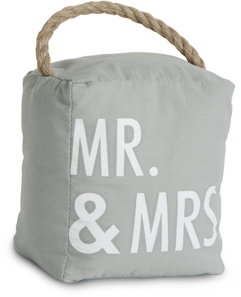Mr & Mrs Door Stop