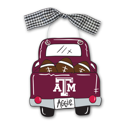 Texas A&M Truck Ornament