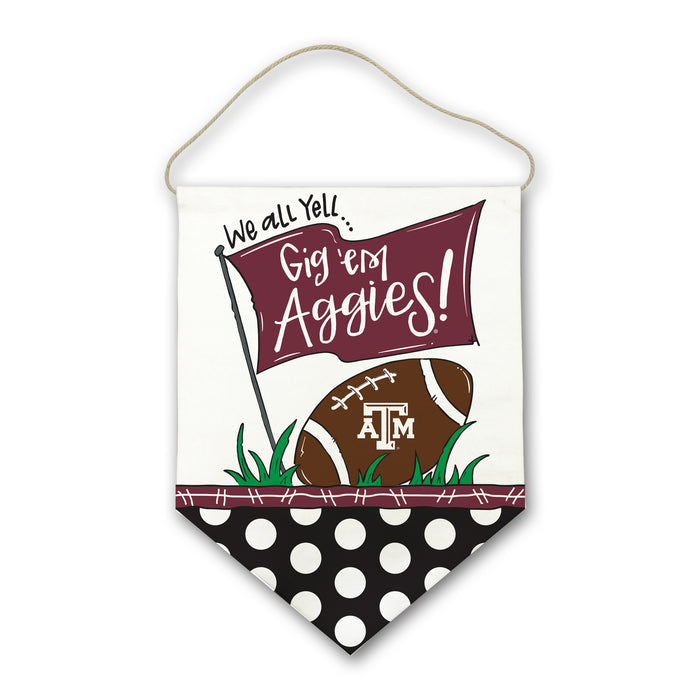Texas A&M Door Hanger