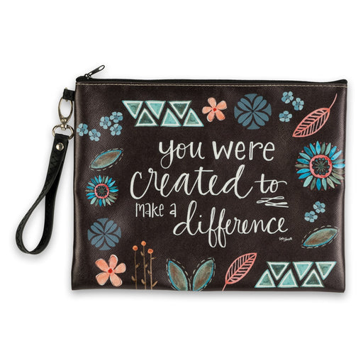 Make A Difference Zipper Pouch