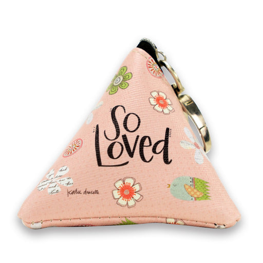 So Loved Small Triangle Bag
