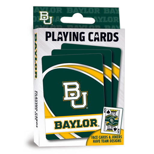 Baylor University Playing Cards
