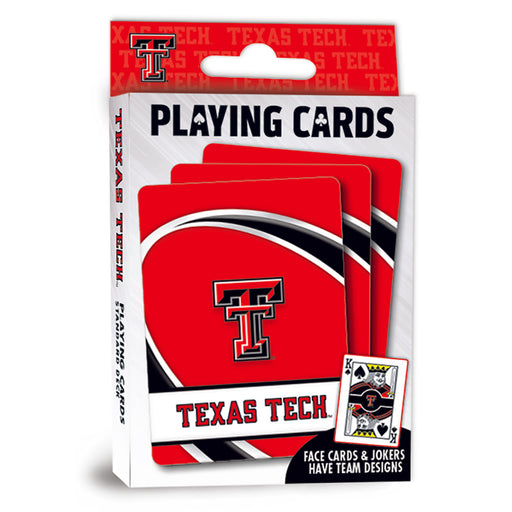 Texas Tech Playing Cards