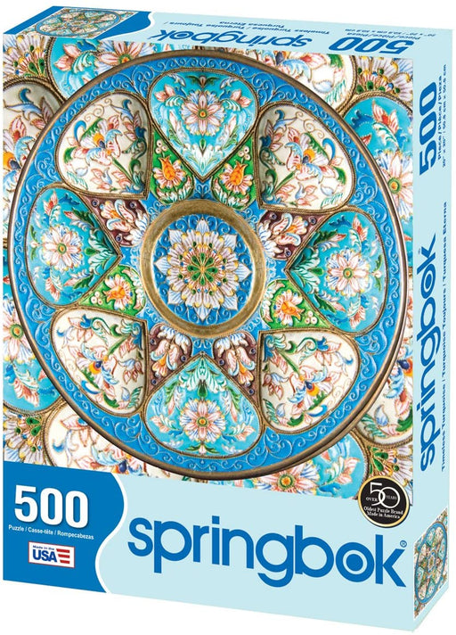 Timeless Turquoise 500 Piece Jigsaw Puzzle