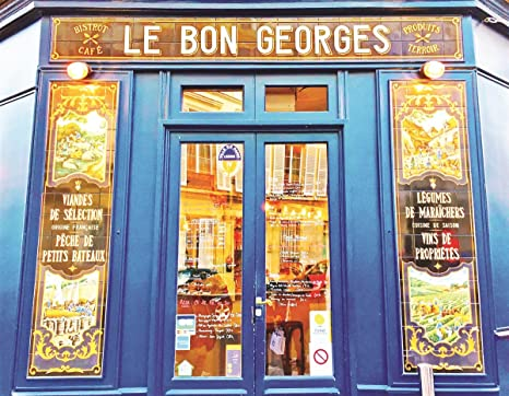 Cafe le Bon Georges 500 Piece Jigsaw Puzzle