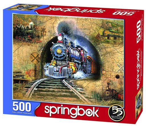 Full Speed Ahead 500 Piece Jigsaw Puzzle