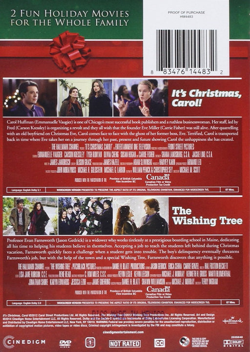 It's Christmas Carol!/The Wishing Tree DVD
