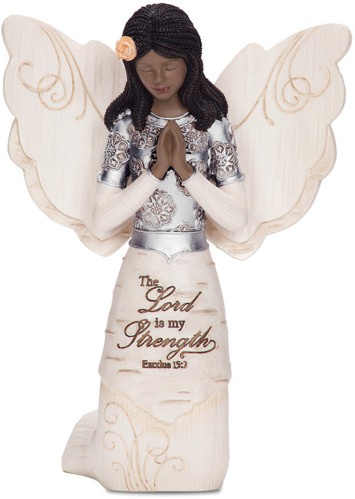 "5.5"" Ebony Kneeling & Praying Angel"