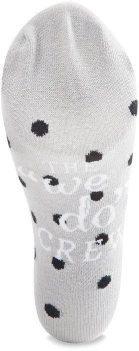 Ladies Cotton Blend Sock - Gray